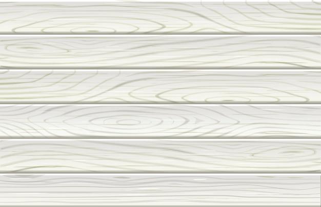 Drewno Wzór Biały Kolor Tła. Premium Wektorów
