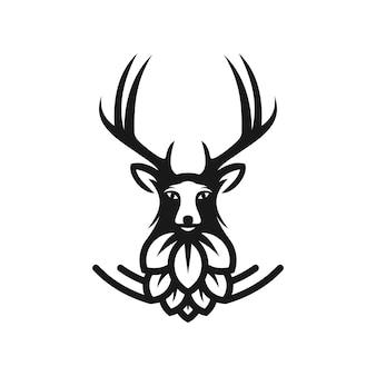 Drogi warzenia logo szablon ilustracji