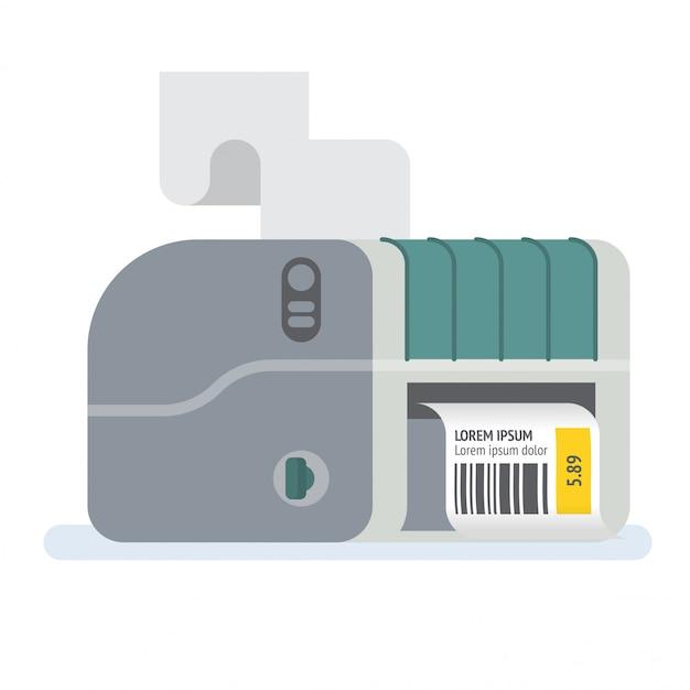 Drukarka kodów kreskowych drukarka etykiet