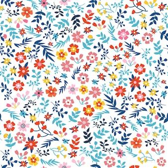 Drukuj kwiatowy wzór