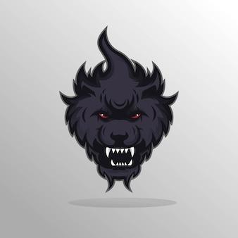 Drużyna e-sportowa klubu sportowego wilka