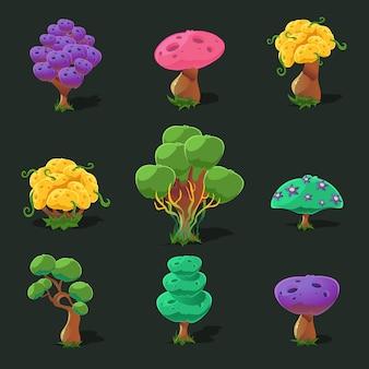 Drzewa kreskówek, zestaw