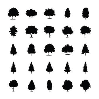 Drzewa piktogramy stałe