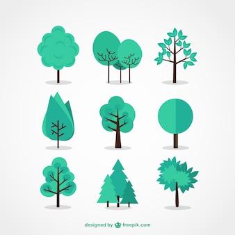 Drzewo icon set