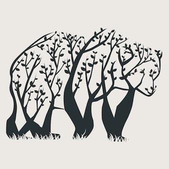 Drzewo niedźwiedź