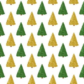 Drzewo sosny wzór tła lasu