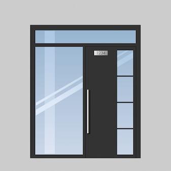 Drzwi na taras