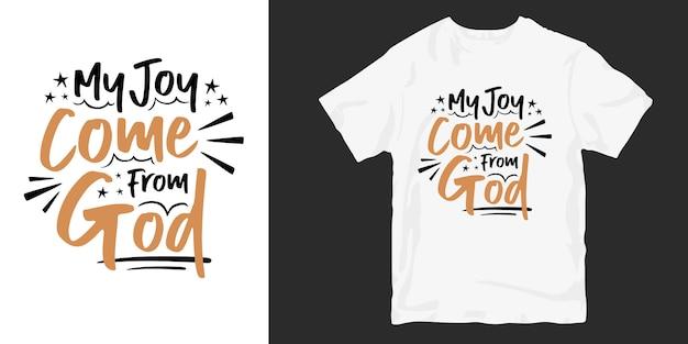 Duchowe cytaty o życiu, inspirujący projekt koszulki typograficznej,