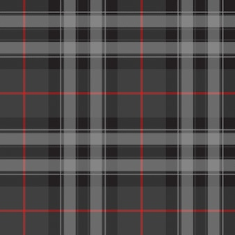 Duma szkockiej kratę srebrny kilt tekstura wzór