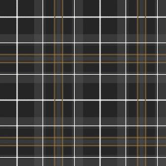 Duma szkockiej krowy polowania kratę kelt tło wzór