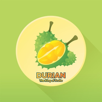 Durian brand king of fruit