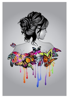 Dusza motyla