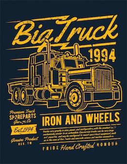Duża ciężarówka 2