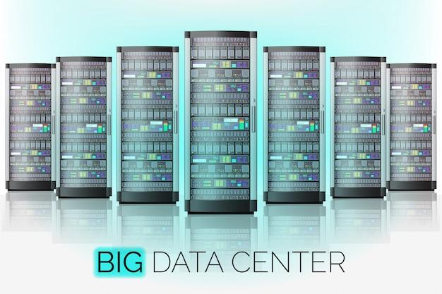 Duże centrum danych