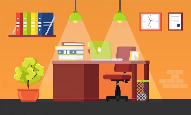Duże nowoczesne biuro