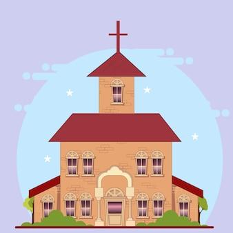 Duży kościół