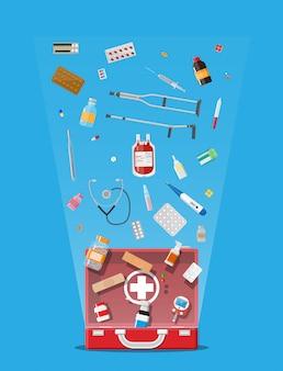 Duży zestaw medyczny