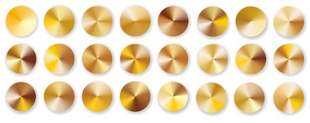 Duży złoty gradient promieniowy