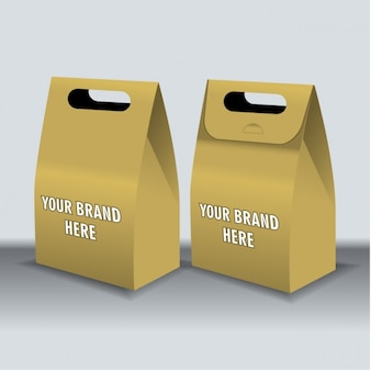 Dwa pudełka na fast food