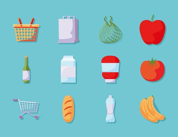 Dwanaście artykułów spożywczych