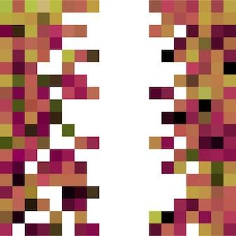 Dwie boczne pixel streszczenie kontekst