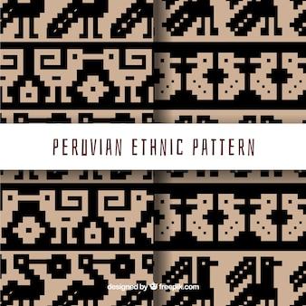 Dwie peruwiańskie wzory