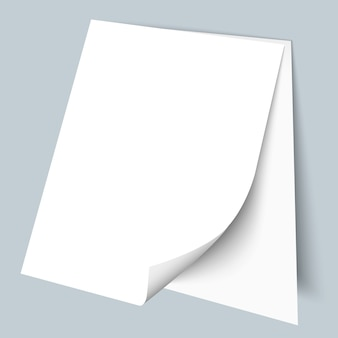 Dwie puste kartki papieru
