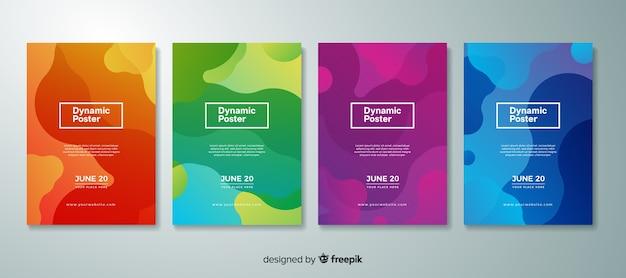 Dynamiczna kolekcja plakatów