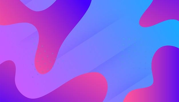 Dynamiczne tło. broszura dotycząca widma technicznego. minimalny element. dziennik gradientowy. strona docelowa 3d. różowy układ cyfrowy. kolor nowoczesny kształt. futurystyczna ulotka. fioletowe dynamiczne tło
