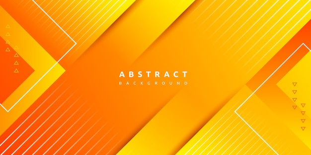 Dynamiczne żywe kolorowe gradientowe pomarańczowe tło