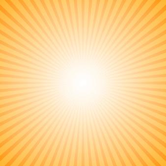 Dynamiczny gradientowy abstrakcjonistyczny sunray tło