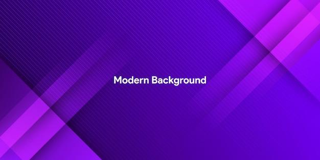 Dynamiczny kolor fioletowy z tłem gradientowym i paskiem