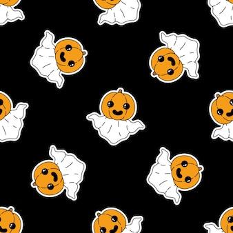 Dynia halloween wzór