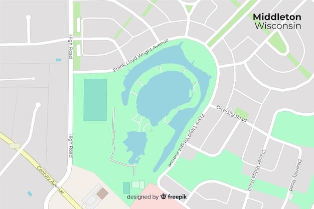 Dyrektywa kolorowa koncepcja mapy