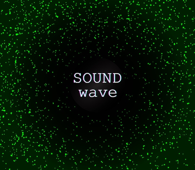 Dyskoteka w tle. zielone magiczne światła. świecące iskierki. zielone cząsteczki abstrakcyjne. efekt świetlny. spadające gwiazdy. błyszczące drobinki. świąteczne migoczące światła.