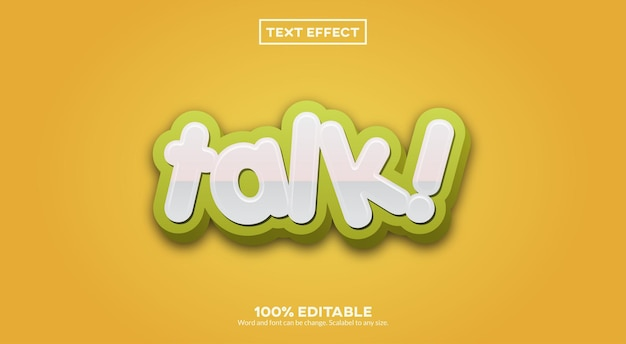 Dyskusja efekt tekstowy 3d