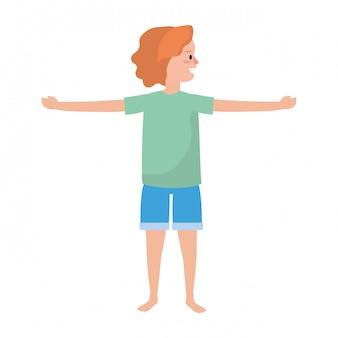 Dysponowana kobieta ćwiczy joga