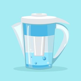 Dzbanek z filtrem wody