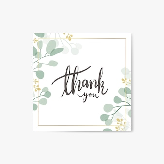 Dziękuję kartce