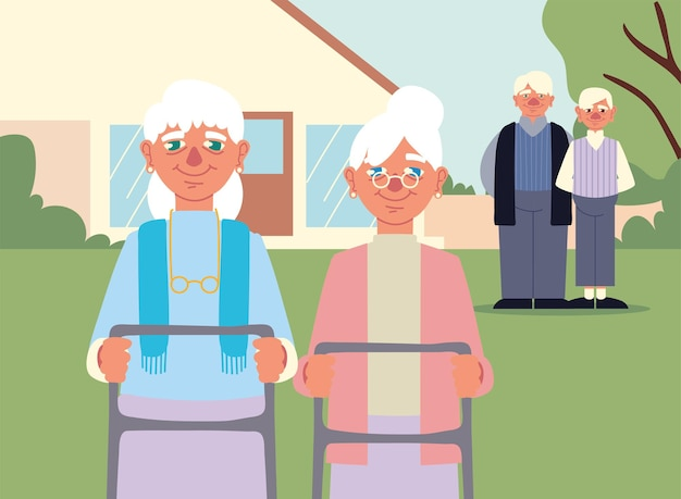 Dziadkowie i babcie