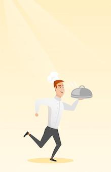 Działający kucharz