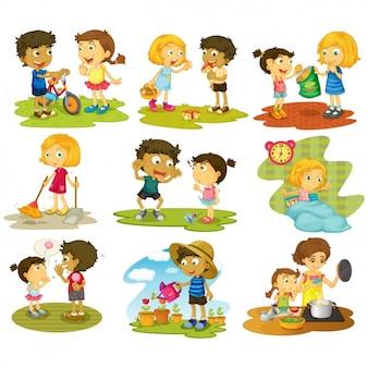 Działania kolekcji kid