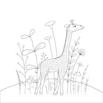 Dzieci kolorowanki książki zwierzęta