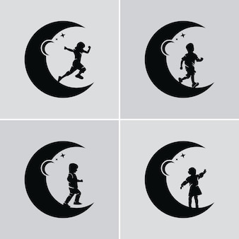 Dzieci marzą o dotarciu do gwiazdy i księżyca