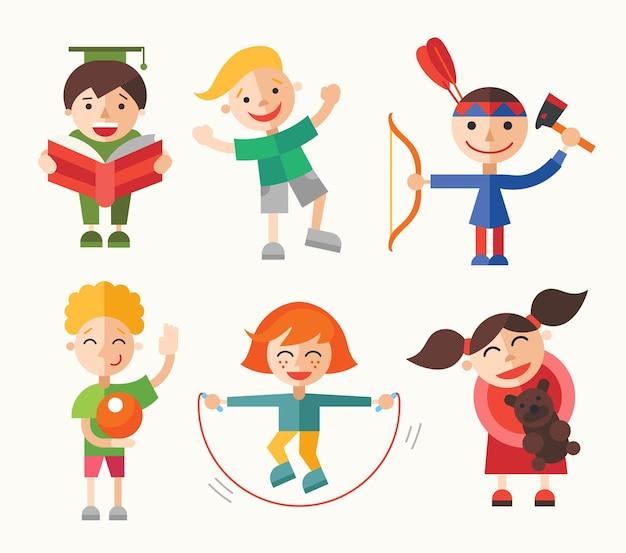 Dzieci oraz ich hobby i zajęcia