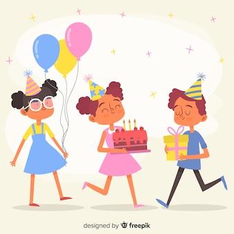 Dzieci w kolekcji urodzin