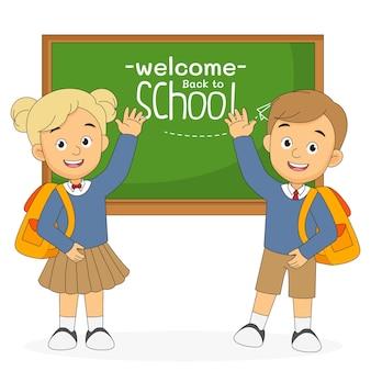 Dzieci z kreskówek wracają do szkoły