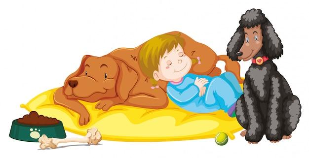 Dzieci ze zwierzętami