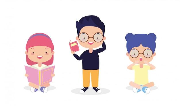 Dzieciaki w światowym dniu książki