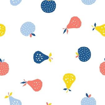 Dziecinna tkanina na pieluchy tekstylnebezszwowe tło wzór